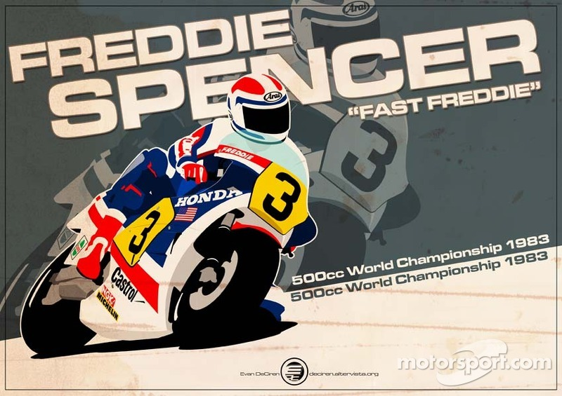 Freddie Spencer - 500cc 1983