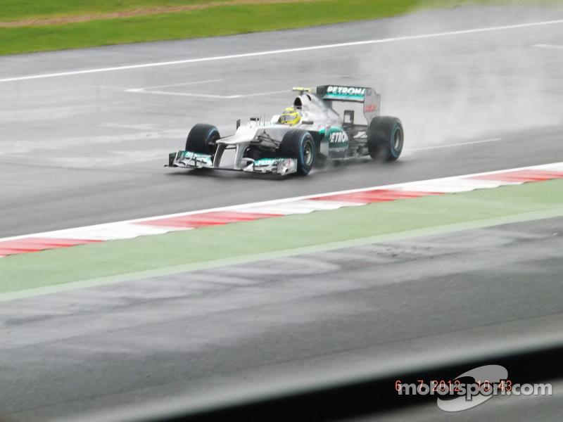 Nico Rosberg Mercedes F1
