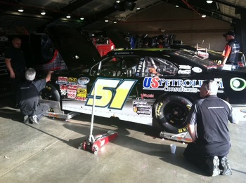 Chassis adjustments on the JCR #51