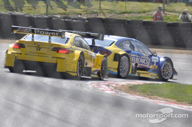 An exciting race for both Paffett and Glock