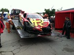 Carlos Kauffmann's car after race #1