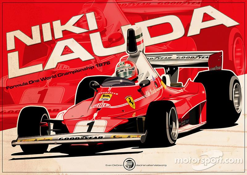 Niki Lauda - F1 1976