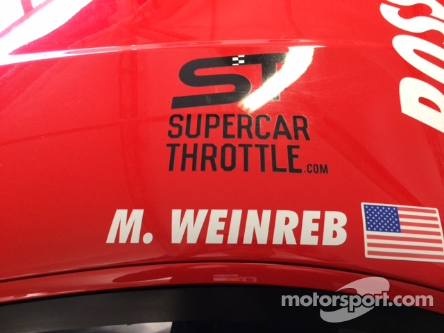 SupercarThrottle.com support for Mike Weinreb