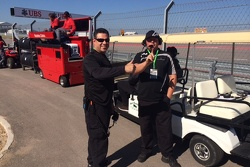 Auto Gallery Motorsports Ferrari Challenge Car Chiefs Dave Cortes & Bill Barrett