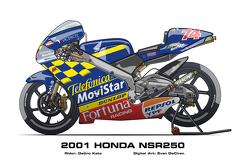 Honda NSR250 - 2001 Daijiro Kato
