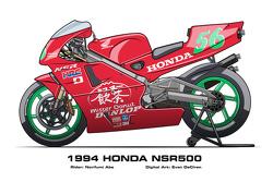 Honda NSR500 - 1994 Norifumi Abe