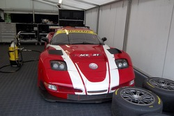 Corvette in the paddock
