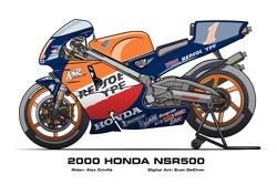 Honda NSR500 - 2000 Alex Criville