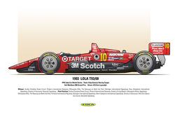 3rd: Marlboro 500 Grand Prix - Driver: #10 Arie Luyendyk