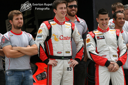 Rubem Carrapatoso, Gabriel Casagrande, Diego Nunes, C2 Team, having fun