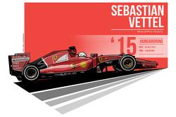 Sebastian Vettel - 2015 Hungaroring