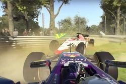 F1 2015 crash