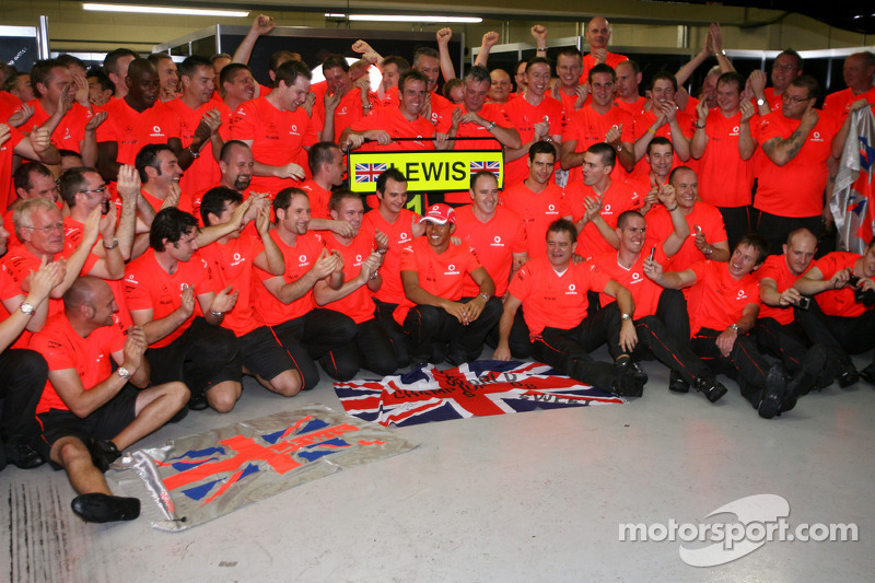 بطل العالم في الفورمولا واحد لموسم 2008