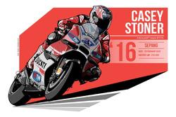 Casey Stoner - 2016 Sepang
