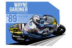 Wayne Gardner - 1989 Phillip Island