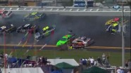 Chain Reaction Wreck - Daytona International Speedway 2011