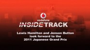 Lewis Hamilton and Jenson Button give the inside track ahead of the 2011 Japanese Grand Prix