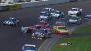 Crash on Turn 3 Draws Caution - Pocono - 06/10/2012