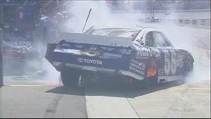 Scary Wreck Involving Top 3 Drivers - Michigan - 08/19/2012