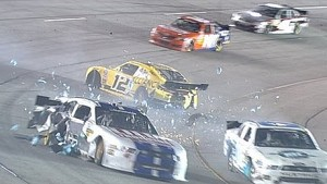 Messy crash brings out the red flag in Richmond