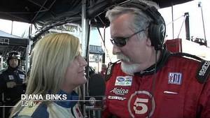Scott Tucker ALMS LMP2 and Cooper Tires Lites Champion