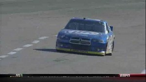 First Caution Flag Pit Stops