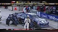 Johnson Gives Up Lead For Pit Stop - Homestead - 11/18/2012
