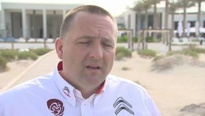 Citroen 2013 WRC Season - Abu Dhabi Launch - Yves Matton Interview