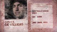 Rally Dakar 2013: Giniel de Villiers Profile