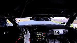 Onboard Nismo GT-R GT3 during Qualifier lap at Nogaro FIA GT