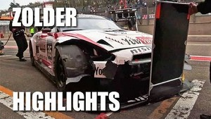 ZOLDER HIGHLIGHTS - Nissan GT-R Nismo GT3 at the FIA GT - 'You should have seen the other car...'