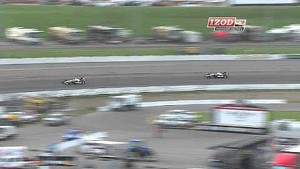 IZOD IndyCar Series Iowa Heat Race Highlights