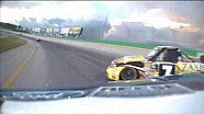 John Wes Townley Saves a Near Wreck | UNOH 225 NASCAR Kentucky