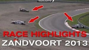 FIA GT SERIES 2013 - ZANDVOORT - RACE HIGHLIGHTS