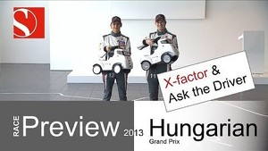 2013 Hungarian GP - Race Preview / Ask the Driver - Sauber F1 Team