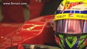 A lap with Felipe at Hungaroring Circuit