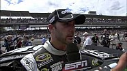 Tony Stewart, Jimmie Johnson and Kasey Kahne Post-Race Interviews | Brickyard 400