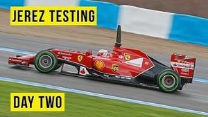 F1 Testing 2014 - Jerez - Day 2