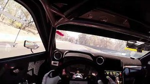 Rick Kelly's 2:04 Bathurst Lap from Driver's Perspective via GoPro Helmet Cam