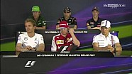 Typical Kimi Räikkönen answer on Question at Press Conference Malaysia 2014