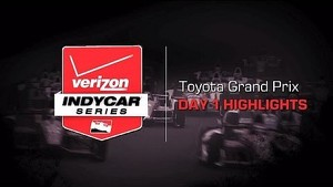 2014 Toyota Grand Prix: Day 1 Highlights
