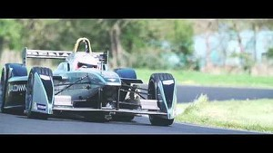 Tyre test, final countdown - 2014 FIA Formula E - Michelin