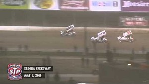 Highlights: World of Outlaws STP Sprint Cars Eldora Speedway May 3rd, 2014