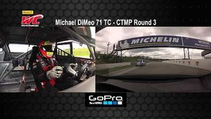 CTMP 2014 - Michael DiMeo On Board Highlights of Round 3 TC