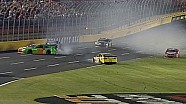 Danica Patrick Collected in Marcos Ambrose Crash - 2014 Coke 600