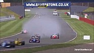 Truck on track Silverstone 2014 Formula Renault 2.0 NEC