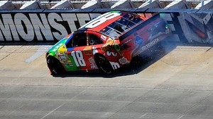 Busch wreck ends hope for weekend sweep