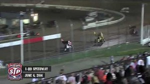 Highlights: World of Outlaws STP Sprint Cars I-80 Speedway June 6th, 2014