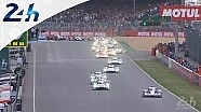Le Mans 2014: start of the 82th edition
