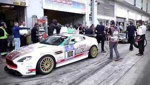 2014 Nürburgring 24 Hours - #100 Vantage N430 Pit Stop